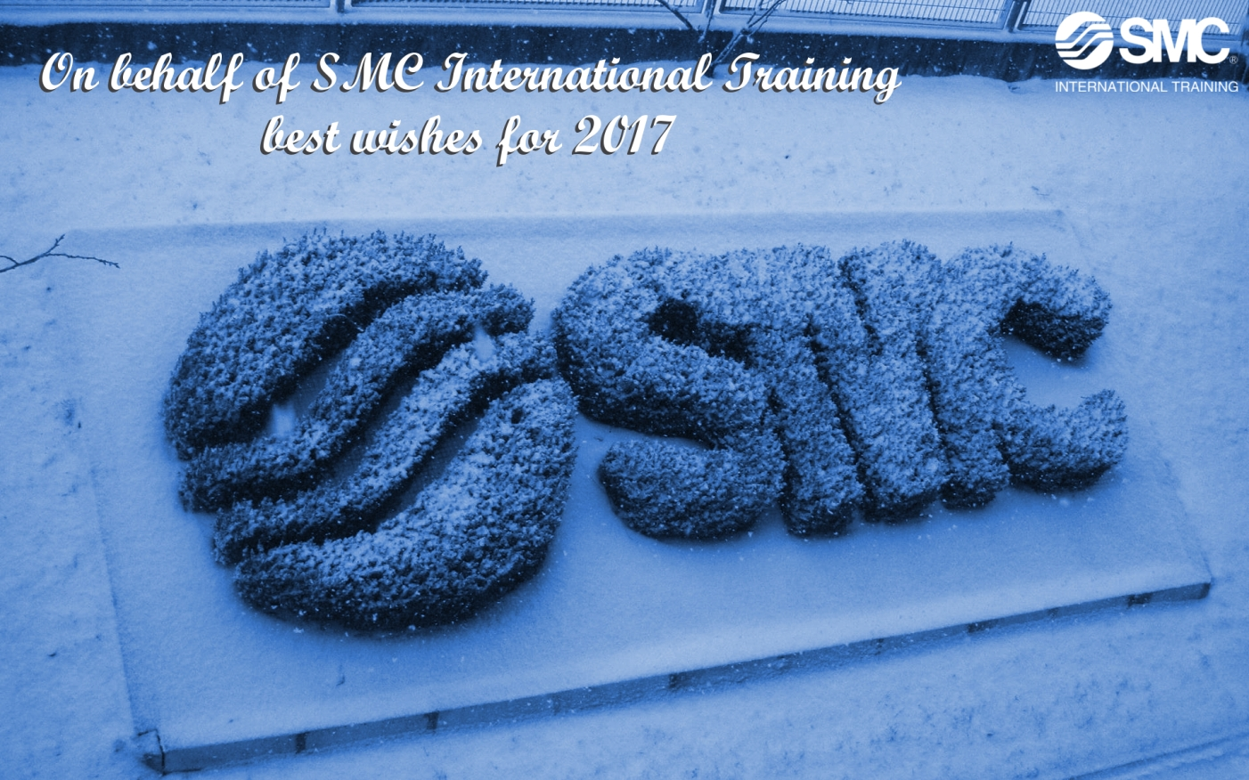 On behalf of  SMC International Training best wishes for 2017