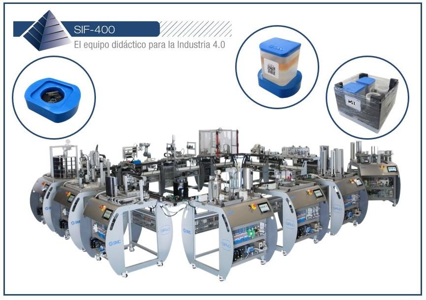 SIF-400 - El equipo didáctico para la Industria 4.0