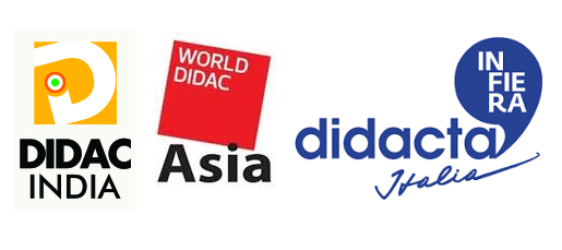 Didac India, Worlddidac Asia and Didacta Italy