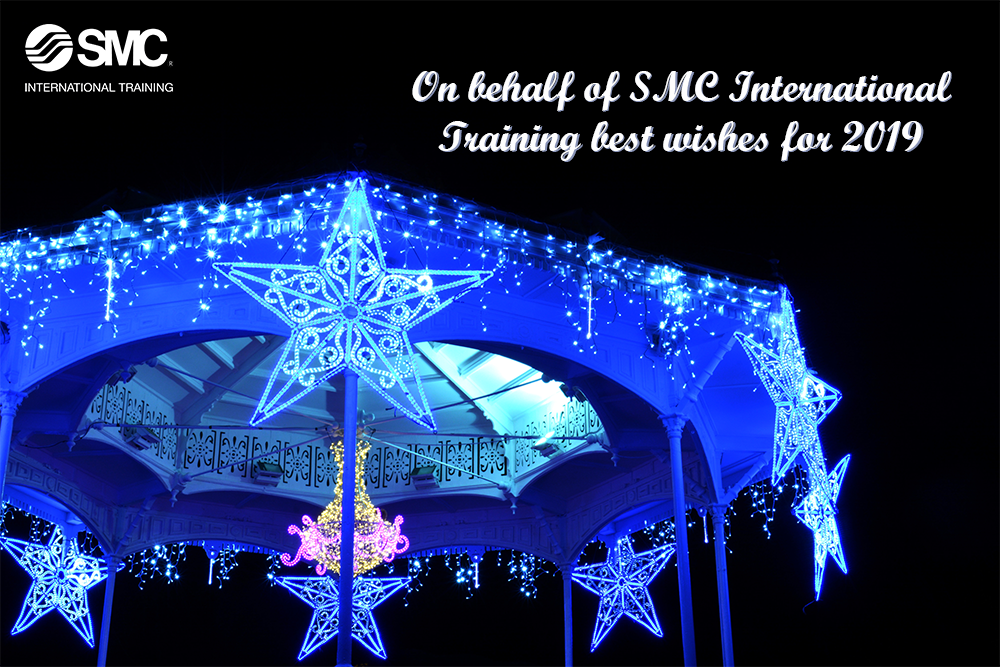 On behalf of SMC International Training best whises for 2019