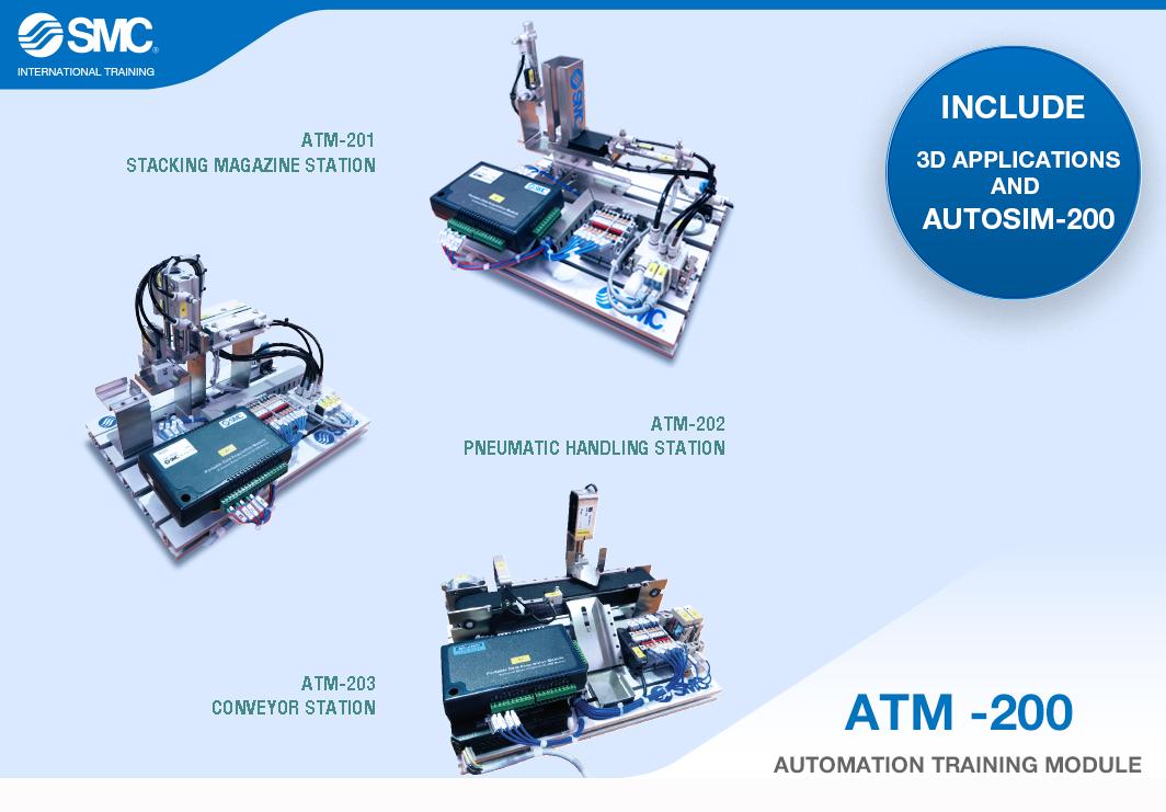 ATM-200, el módulo de entrenamiento en automatización