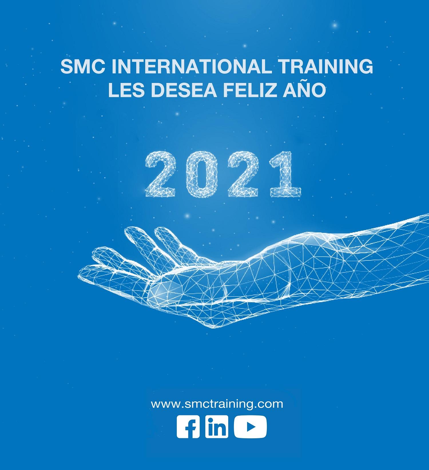 SMC International Training les desea feliz año 2021