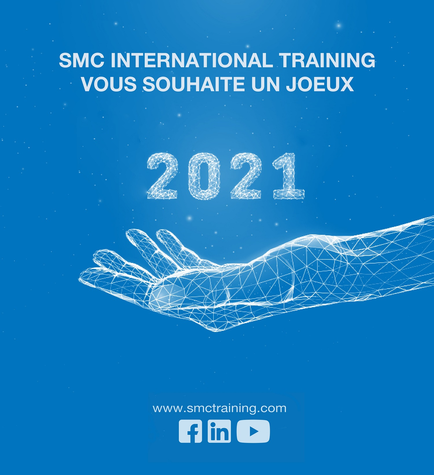 SMC International Training vous souhaite un joeux 2021