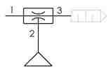 Symbolique - Générateur de vide par effet venturi avec ventouse