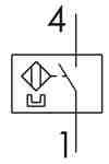 Symbolique - Détecteur magnétique type Reed