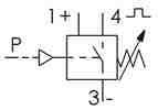 Symbolique - Pressostat sortie à transistor