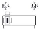 Symbolique - Vérin sans tige entraînement magnétique