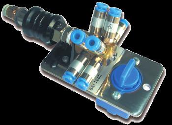 SAI2002 - Distribution block with 3/2 distribution valve