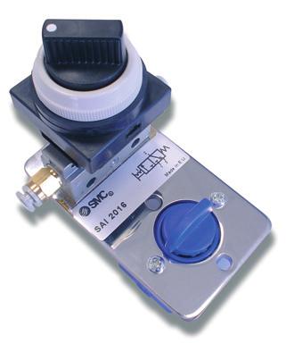 SAI2016 - Distributeur 3/2 NF bistable actionnée par un commutateur
