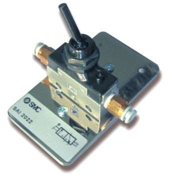SAI2022- Distributeur 3/2 actionnée par levier avec verrouillage
