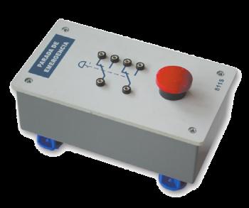 SAI2034 - Bouton poussoir d'arrêt d'urgence (électrique)