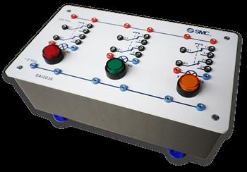 SAI2036 - Ensemble d'entrées électriques (Boîtier avec 3 boutons poussoirs)