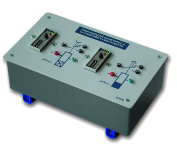 SAI2040 - Ensemble de 2 relais temporisateurs