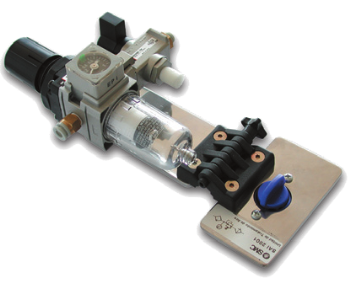 SAI2091 - Air cleaning unit with 3/2 distribution valve