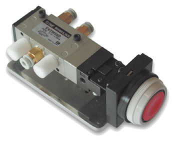 SAI2109 - Distributeur 5/2 actionnée par bouton poussoir