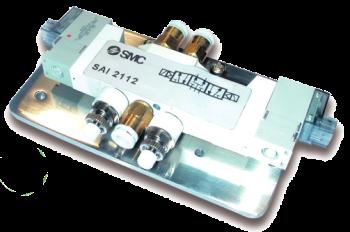 SAI2112 - Électrodistributeur 5/3 centre sous pression