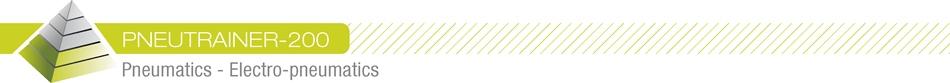 PNEUTRAINER-200 - Pneumatics - Electro-pneumatics
