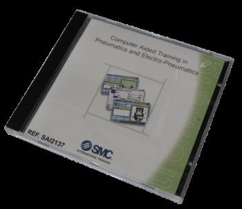 SAI2137 - CD-ROM pour l'enseignement de la pneumatique/'électropneumatique et API assisté par ordinateur.