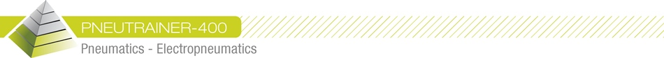 PNEUTRAINER-400 - Pneumatics - Electro-pneumatics