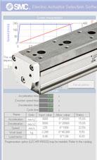Electric actuator selector software