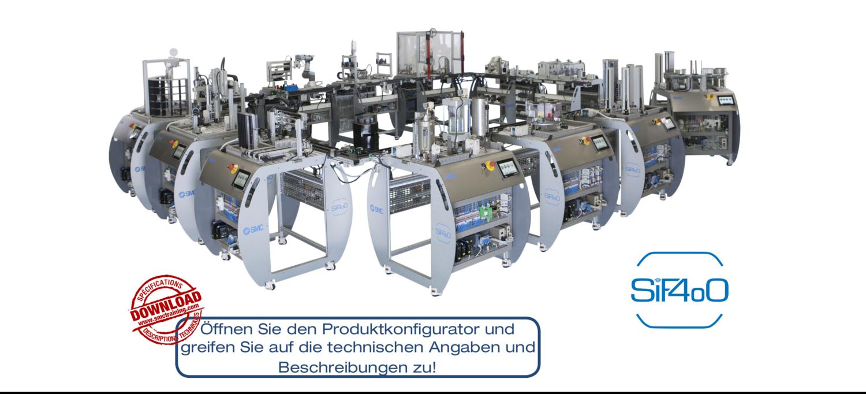 SIF-400 - Trainingsequipment für Industrie 4.0