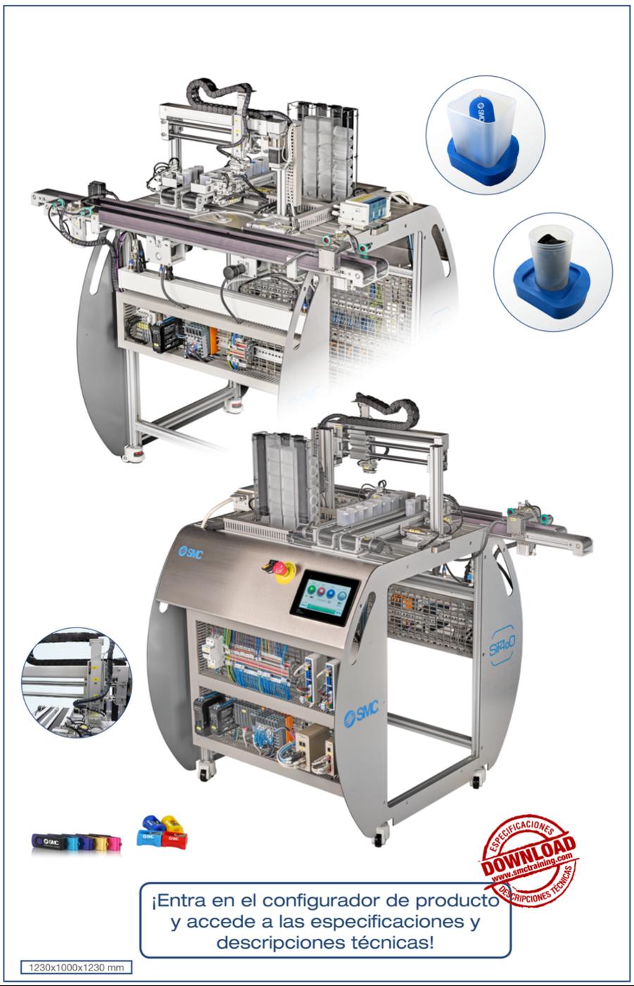 SIF-404 - Estación de llenado de recipientes - producto personalizado
