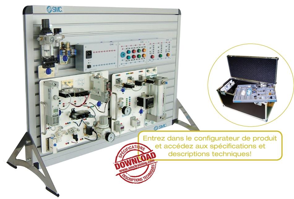 VAC-200 - L'équipement didactique conçu pour le développement des compétences en technologie du vide