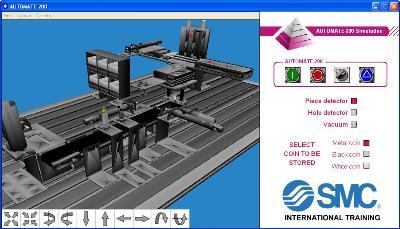 Aplicación AUTOMATE-200 para autoSIM-200