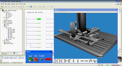 Aplicación 3D de MAP-200 para autoSIM-200