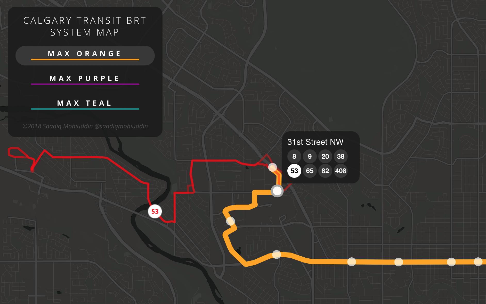 'Calgary BRT'