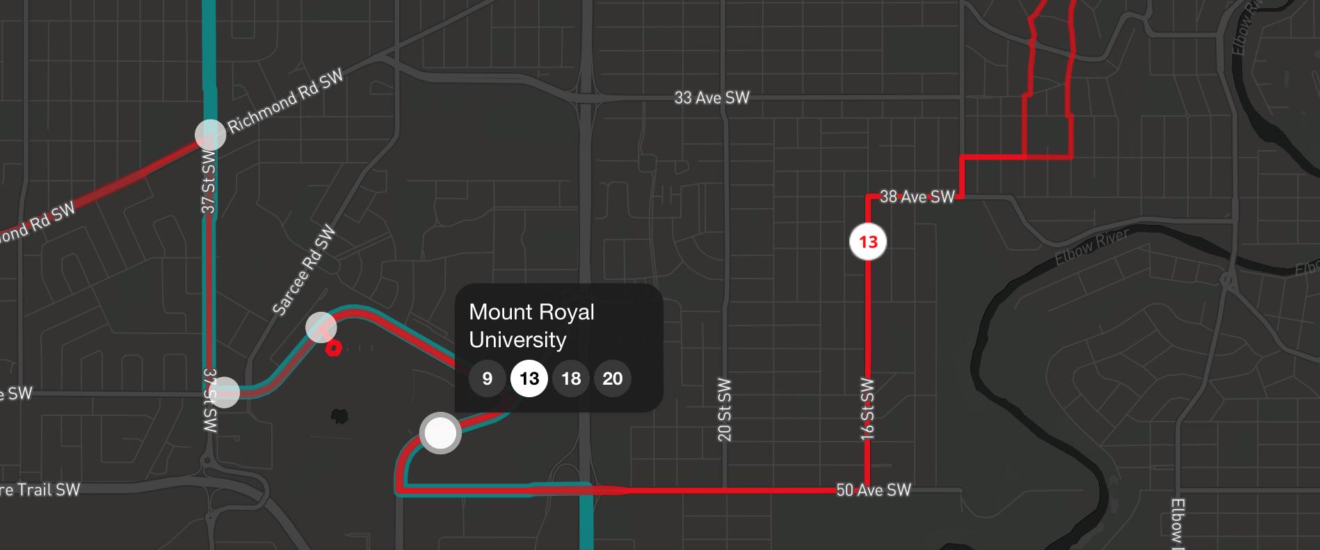 Designing a Transit Map: User Experience Design | Saadiq Mohiuddin