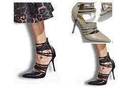 Black shoes + midi