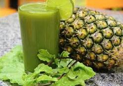 Suco detox verde