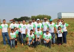 Itiquira recebeu mais uma edição do Projeto Recuperando Nascentes