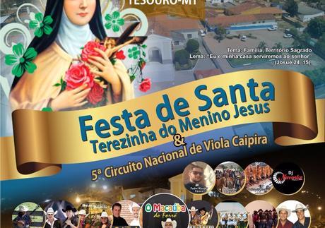 5º Circuito nacional de viola caipira e Festa de Santa Terezinha