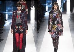 O inverno será florido: as estampas de flores invadem a semana de moda de Nova York