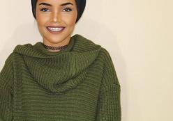 Adolescente que usa hijab vira modelo e é contratada pela mesma agência de Gisele e Ambrosio