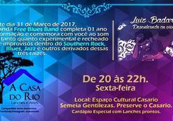 Banda Free Blues Band nesta sexta- feira, no Casario