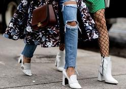 Back to 80's! Meia-calça arrastão volta a ser mania entre as fashionistas