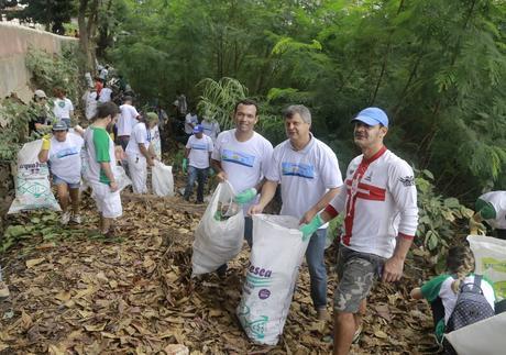 Voluntários se unem em defesa do Rio Cuiabá; limpeza ocorre no próximo sábado (24)