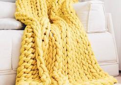 Tendência de inverno: como trazer o tricô para a decoração