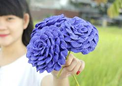 10 flores de papel que você pode fazer de decoração