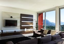 Painéis para televisão oferecem charme à decoração