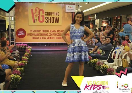 VG Shopping realiza desfile de moda infantil