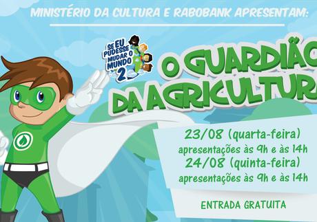Lucas do Rio Verde recebe apresentação teatral O Guardião da Agricultura, sobre consciência ambiental e agricultura