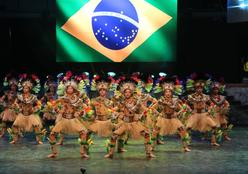 Flor Ribeirinha comemora título mundial conquistado na Turquia