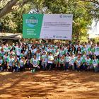 Ação ambiental completa aniversário com a marca de 80 mil mudas plantadas