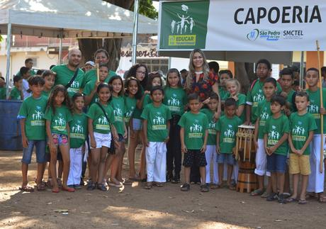 Projeto educacional de São Pedro da Cipa incentiva disciplina através de aulas de capoeira