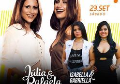 Julia e Rafaela no Valentino