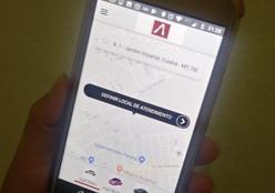 Novo aplicativo de transporte foi lançado em Cuiabá com menores preços e carros só para mulheres